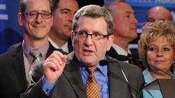 Régis Labeaume est réélu maire de Québec