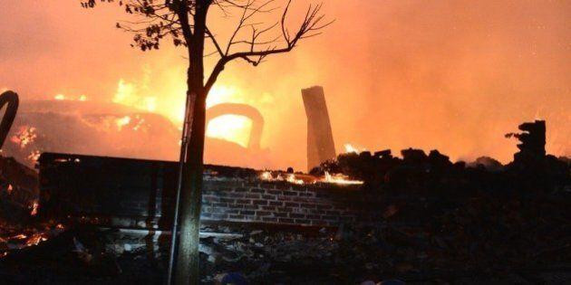 Un incendie ravage une dizaine de commerces de la rue Principale à