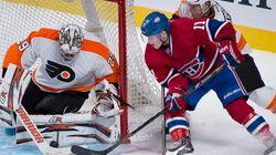 Le Canadien défait les Flyers 4 1 et signe sa première victoire de la