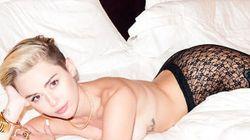 Cette nouvelle séance photo de Miley Cyrus laisse (encore) peu de place à