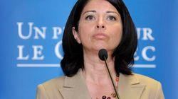 L'ex-ministre Line Beauchamp a un nouveau