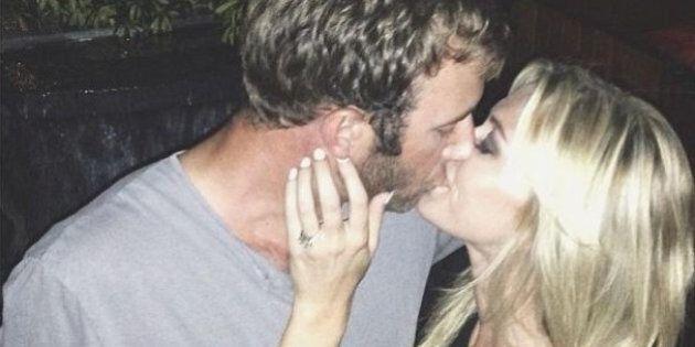 Paulina Gretzy et Dustin Johnson fiancés, le couple partage des photos de la bague sur