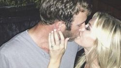 Paulina Gretzy et Dustin Johnson