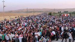 Exode sans précédent en Syrie, environ 15 000 Syriens ont fui vers