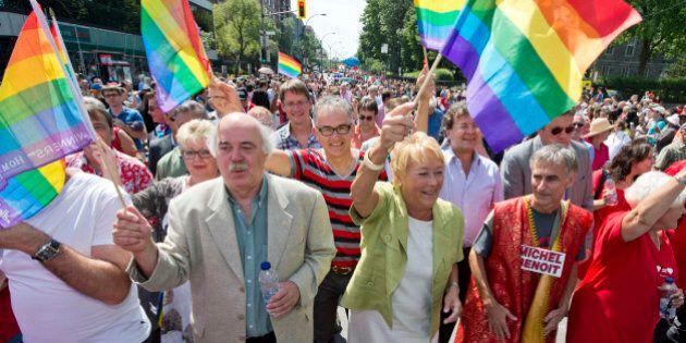 Pour la première fois, un premier ministre du Québec assiste au défilé gai de