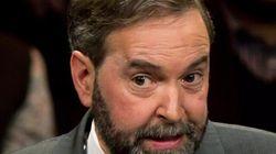 Charte des valeurs: Thomas Mulcair ne se laissera pas écarter du
