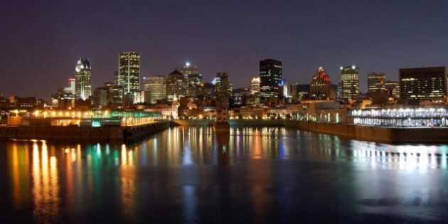 Description Vieux-port et Vieux-Montréal 2117 | Source http://www. flickr. Montréal - Summer ... Category:Night...