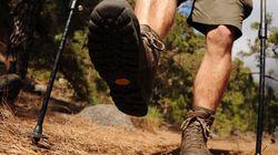 Souliers et bâtons de marche : Pour partir du bon