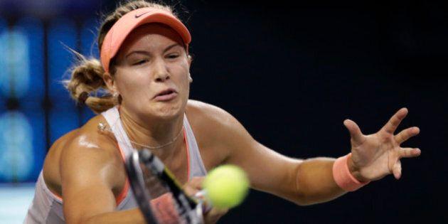 Omnium de tennis Pan Pacific à Tokyo: Eugenie Bouchard a été