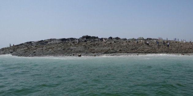 Une «île» émerge dans la mer d'Arabie après un séisme au