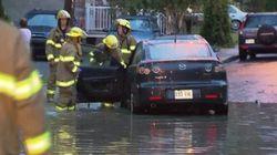 Pluies et inondations à