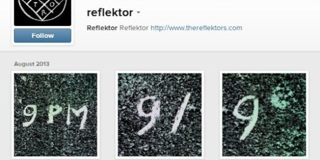 Reflektor : un compte Instagram dévoile que le groupe Arcade Fire pourrait tenir un évènement le 9 septembre