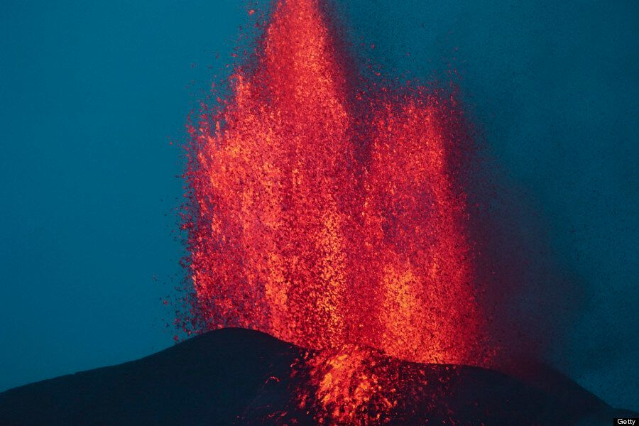 17 photos de lave volcanique qui vous donneront