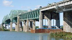 Pont Champlain: deuxième week-end de travaux