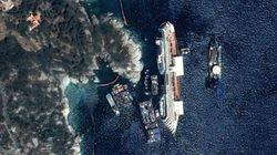 Le redressement du Costa Concordia vu de
