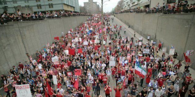 Recours collectif contre Montréal après une arrestation massive lors du conflit