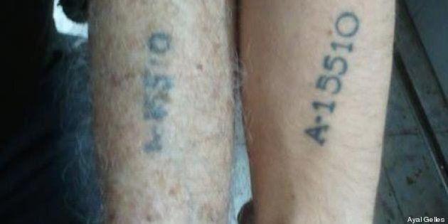 Ces jeunes Israéliens qui se font tatouer le numéro de déportation de leurs