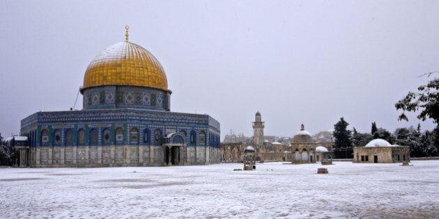 Une tempête de neige exceptionnelle touche le Proche-Orient