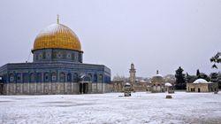 Une tempête de neige exceptionnelle a touché le Proche-Orient