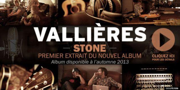 Vincent Vallières dévoile «Stone», premier extrait de son nouvel