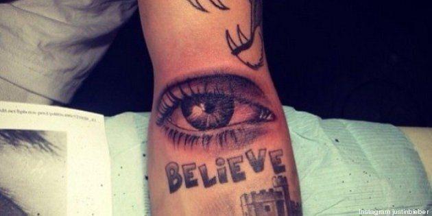 Justin Bieber révèle un nouveau tatouage en hommage à sa mère sur Instagram