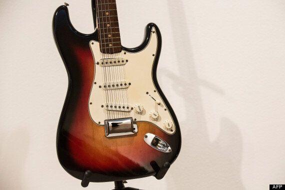 Une guitare électrique de Bob Dylan vendue près d'un million de
