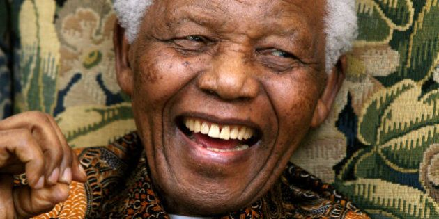 File photo dated 29/06/08 of former South African President Nelson Mandela during his meeting with Conservative...