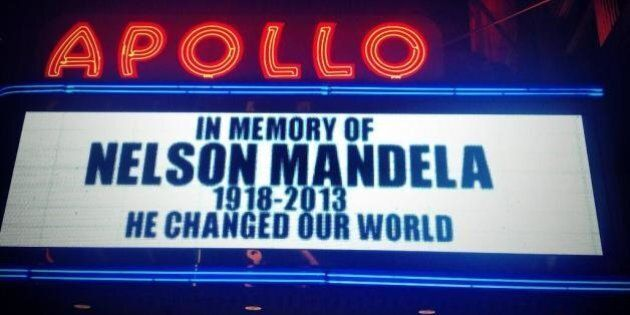 Les hommages originaux à Mandela, de la Nasa à l'Apollo