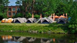 Faire du camping urbain à