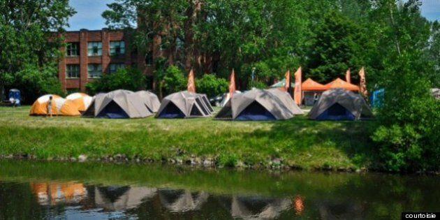 Faire du camping urbain au bord du Canal
