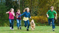Plus de temps dans la nature pour des enfants en bonne