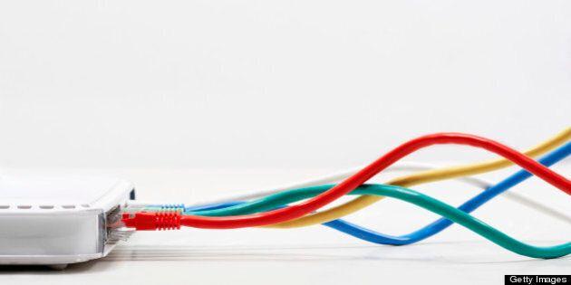 Le branchement à Internet est devenu la norme pour les entreprises du