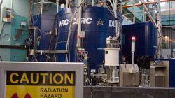 Le réacteur nucléaire de Chalk River suspend ses livraisons d'isotopes