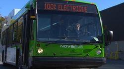 La STM testera l'autobus électrique de Nova Bus dès