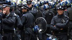 G8: la police antiémeute londonienne arrête six personnes