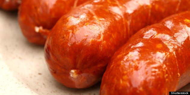 delicious sausages