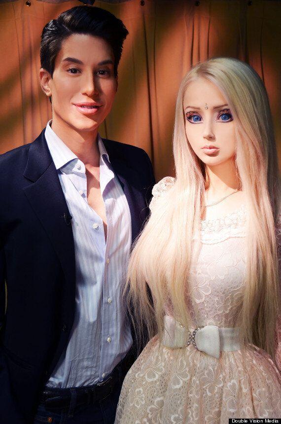 Ken et Barbie humains : Justin Jedlica provoque encore Valeria
