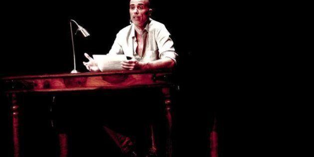 Théâtre de Quat'Sous : James Hyndman lit les mots