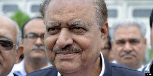 Pakistan : l'homme d'affaires Mamnoon Hussain élu