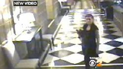 Geneviève Sabourin: une vidéo montre l'actrice dans l'immeuble d'Alec