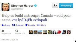 Harper écrirait-il des tweets