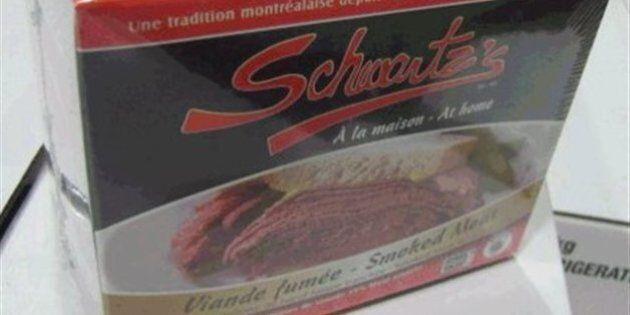 De la viande fumée «Schwartz's à la maison» possiblement