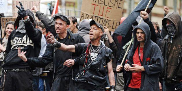 France: manifestation en hommage au militant d'extrême gauche tué par des skinheads