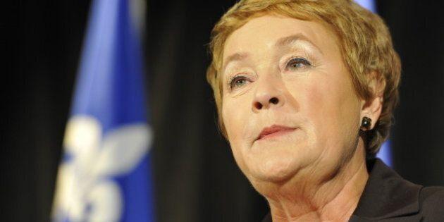Pauline Marois perd deux membres de sa garde
