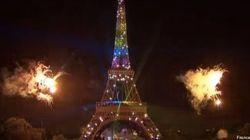 Le feu d'artifice du 14 juillet ne va pas plaire aux anti-mariage gay