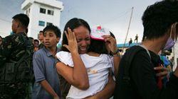 Typhon aux Philippines : l'ONU appelle aux dons, des navires occidentaux en