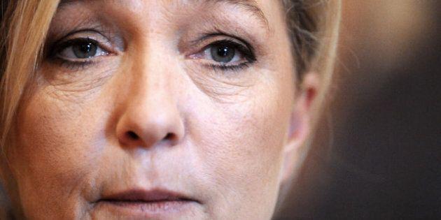 France: la chef du Front national, Marine Le Pen, pourrait perdre son