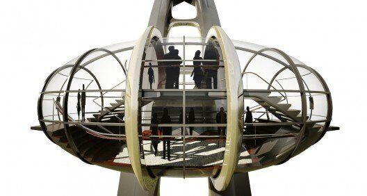 « Nippon Moon »: un projet de grande roue géante imaginée par UNStudio au Japon