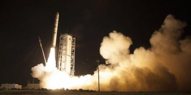La NASA a lancé une sonde vers la lune pour étudier sa fine