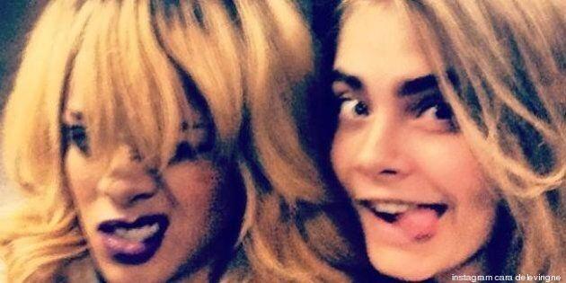 Rihanna et Cara Delevingne: un tatouage pour sceller leur amitié